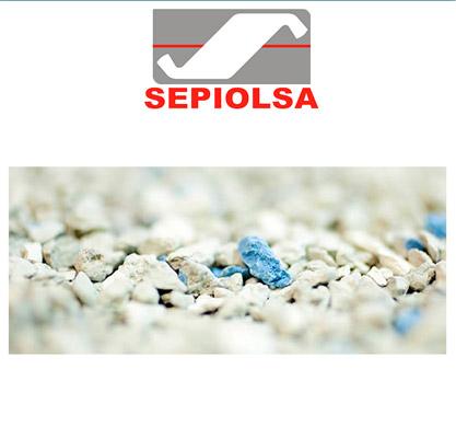 Sabbia assorbente industriale