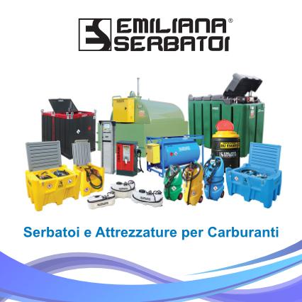 Serbatoi e attrezzature per carburanti