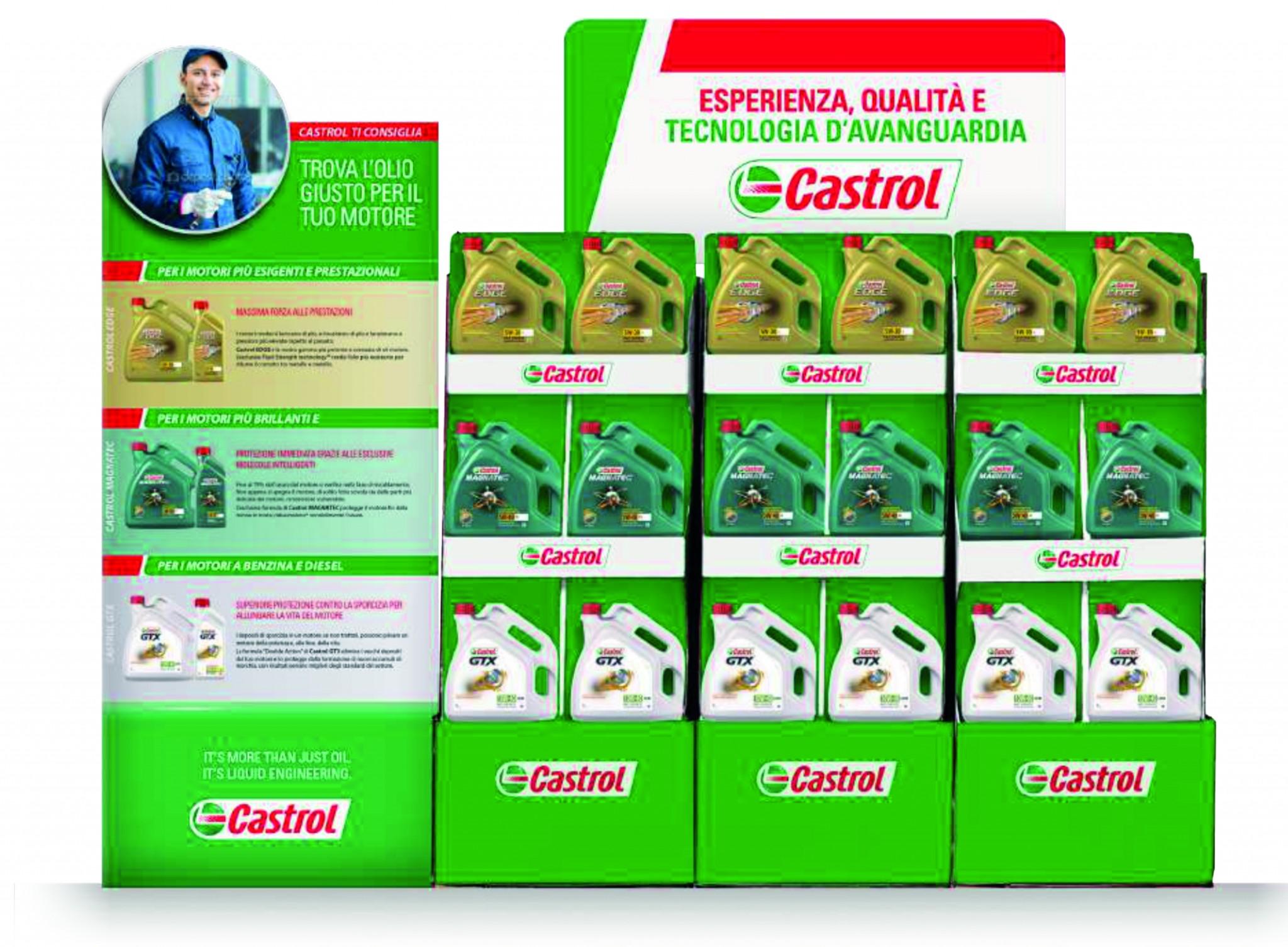 Espositori Castrol